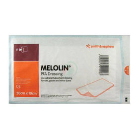 PictureMelolin sterile dressings 10x20 cm, 100 dressings